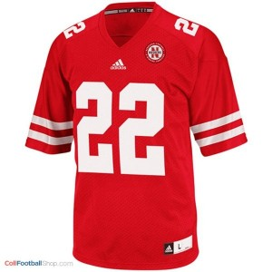 Rex Burkhead UN Cornhuskers #22 Youth - Red Jersey