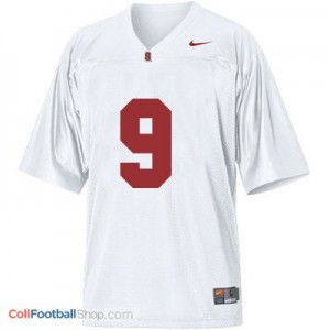 Richard Sherman SU Cardinal #9 - White Jersey
