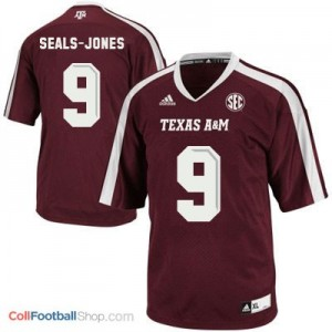Ricky Seals Jones Texas A&M Aggies #9 Youth - Maroon Red Jersey