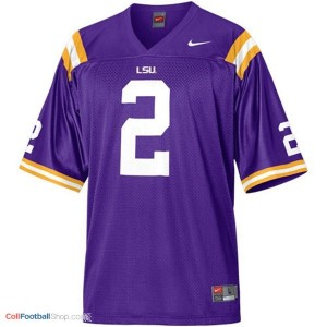 Rueben Randle LSU Tigers #2 Mesh Youth - Purple Jersey