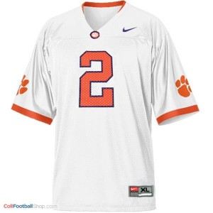 Sammy Watkins Clemson Tigers #2 Youth - White Jersey