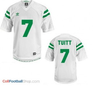 Stephon Tuitt ND Irish #7 Youth - White Jersey