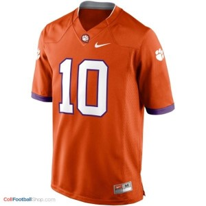 Tajh Boyd Clemson Tigers #10 Youth - Orange Jersey