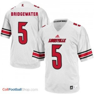 Teddy Bridgewater Louisville Cardinals #5 - White Jersey