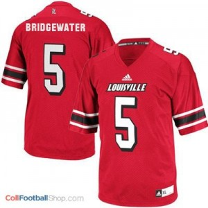 Teddy Bridgewater Louisville Cardinals #5 Youth - Red Jersey