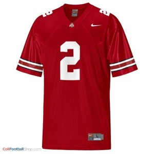 Terrelle Pryor OSU Buckeye #2 Youth - Scarlet Red Jersey