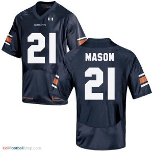 Tre Mason AU Tigers #21 Youth - Navy Blue Jersey