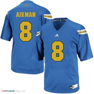 Troy Aikman UCLA Bruins #8 - Blue Jersey