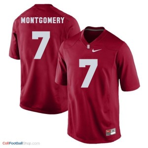 Ty Montgomery SU Cardinal #7 Youth - Red Jersey